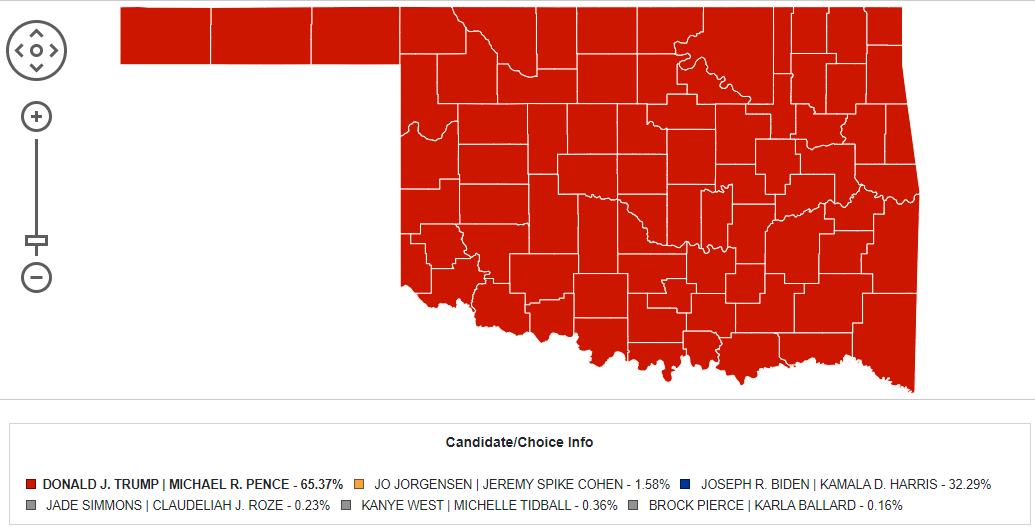 Election night 'great success' for OKGOP