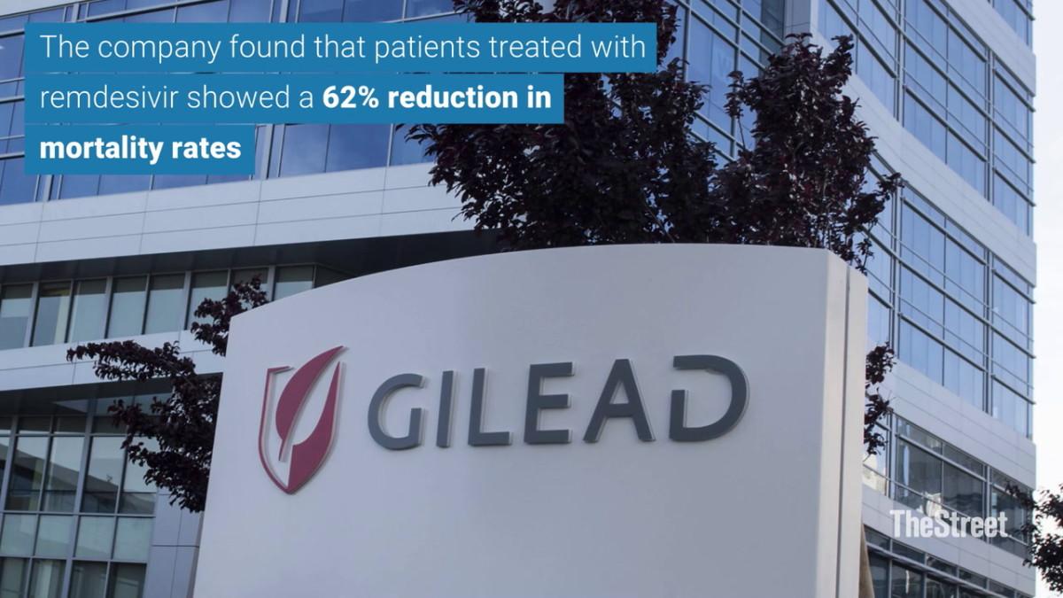 Gilead Shares Gain Following Positive Data From Final Remdesivir Trial