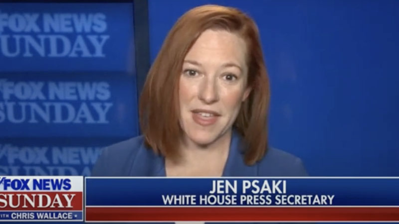 Psaki Struggles To Explain Why One-Third Of $1.9 Trillion COVID Relief Package Will Be Spent Over Next Decade
