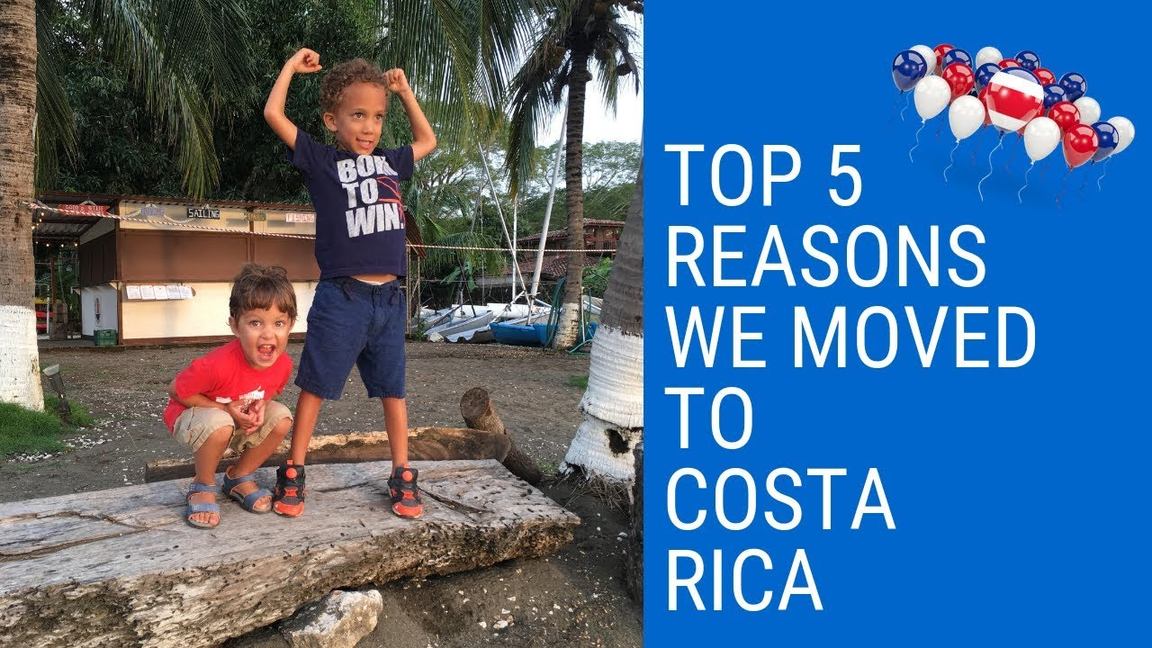 Top 5 Reasons We Moved Our Family to Costa Rica From Canada