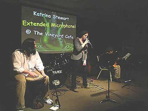 Katrina Stewart - Black Horse and the Cherry Tree @ The Vineyard Cafe