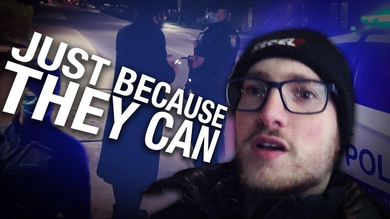 Montreal police target peaceful Jewish neighbourhood