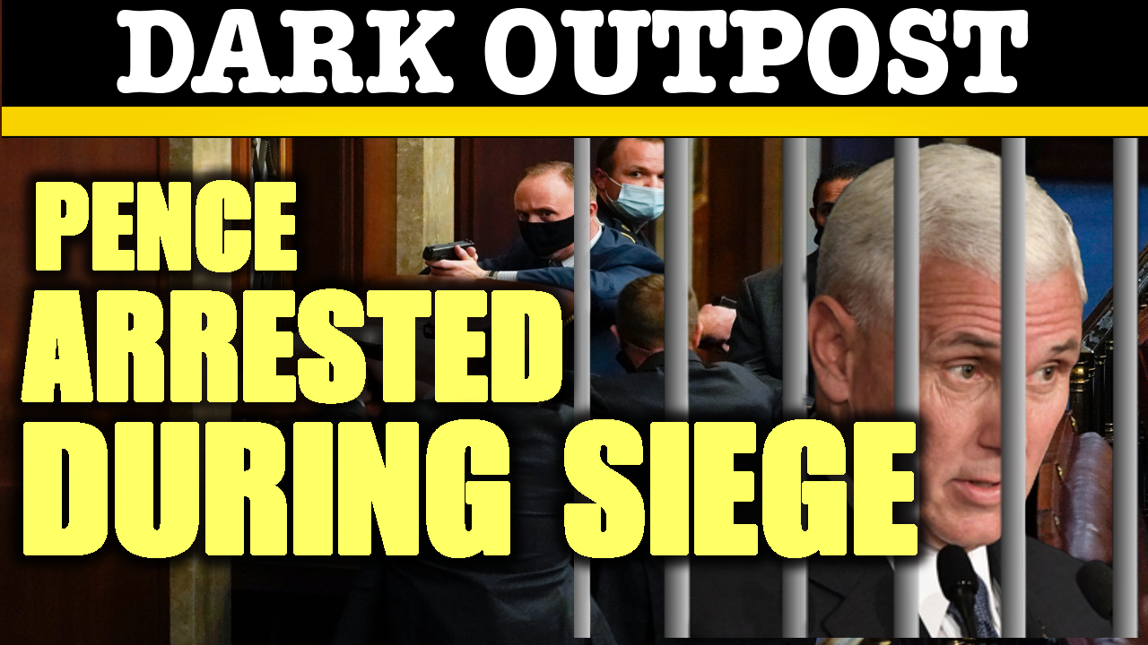 Pence Arrested During Siege - Dark Outpost