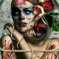 Jaxx Skull Beautifully Broken